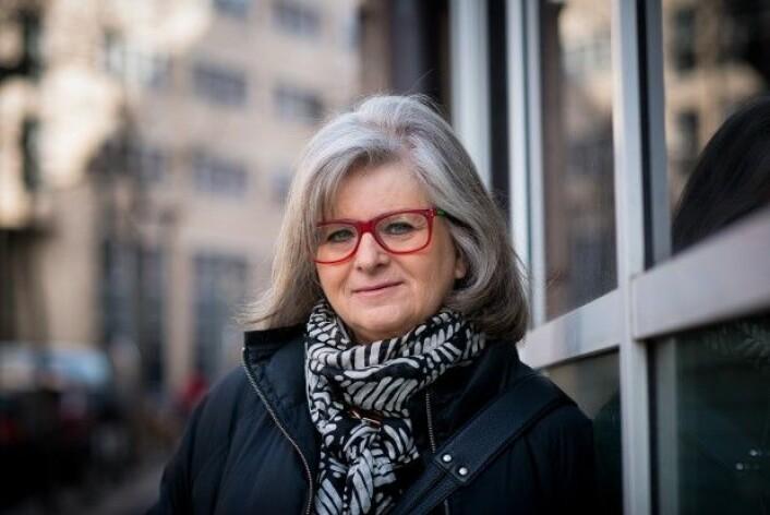 Irene Levin er professor emerita ved HiOA. (Foto: Benjamin Ward/HiOA)