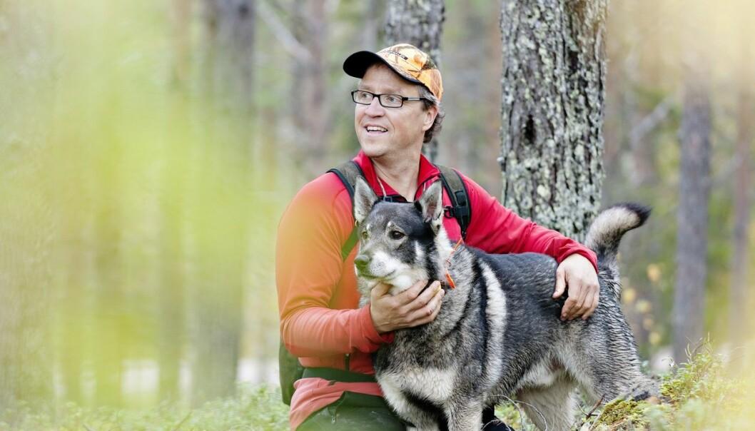 En gang nærmet ulv og menneske seg hverandre. Resultatet var vennskap i tusenvis av år. (Foto: Calle Bredberg/Scandinav)