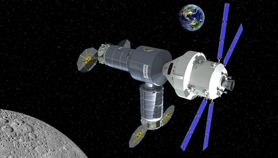 Privat utpost rundt månen