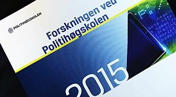 Politiforsking i 2015: Nasjonalt og internasjonalt samarbeid aukar