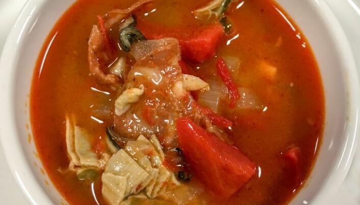 Østersen kan inngå som ingrediens i gryteretter. (Foto: Sigurd Øines, Nofima)