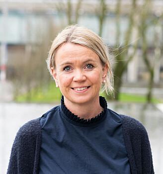 Psykologspesialist Kjersti Berge Evensen disputerte nylig for sin doktorgrad om kommunikasjon i helseinstitusjoner (foto: UiS)