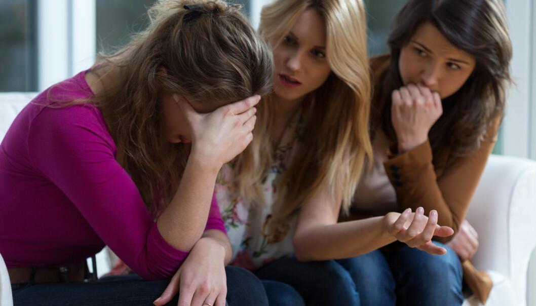Det handler ikke bare om å gråte når noen andre gråter, men heller om du faktisk klarer å plukke opp at det er noen som er lei seg. (Foto: Scanpix)