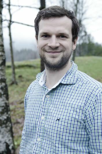 Kristoffer Toldnes Cumming er postdoktor ved Norges idrettshøgskole. (Foto: Andreas B. Johansen/NIH.)
