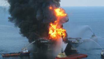 Enorme mengder olje sank ned på havbunnen etter Deepwater Horizon-ulykken