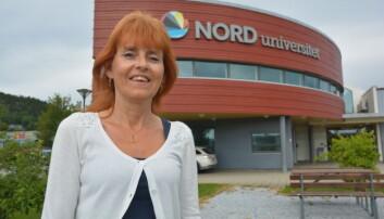 Wenche Wannebo ved Nord universitet mener det er mange fellestrekk mellom videregående elever og studenter når det gjelder hybellivet (foto: Bjørnar Leknes / Nord universitet).