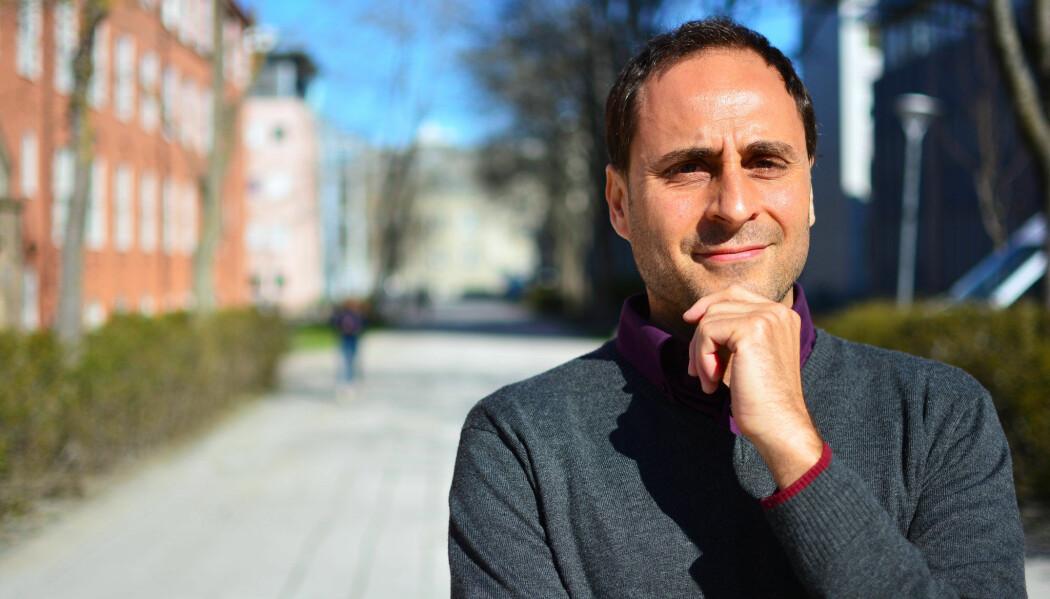 Francesco Cherubini er professor på NTNU og en av forfatterne av den nye IPCC-rapporten om klimaendringer og bruk av landareal. (Foto: Lars R. Bang / NTNU)