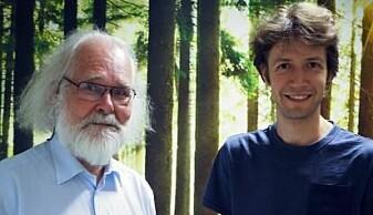 Pest-forskere: Nils Chr. Stenseth (t.v.) og Boris Schmid. (Foto: Bjarne Røsjø, UiO).