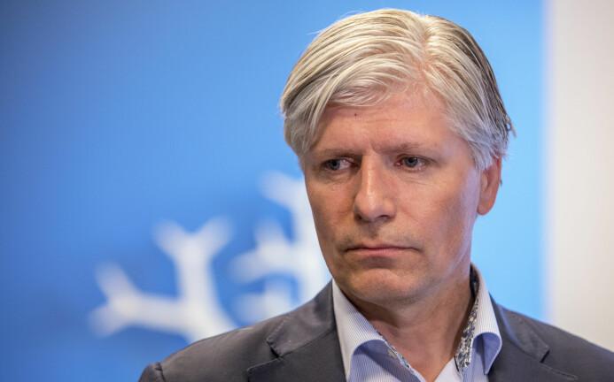 Klima- og miljøminister Ola Elvestuen mener at vi må spise spise mindre kjøtt. (Foto: Ole Berg-Rusten/NTB scanpix)