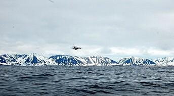 Metan slipper ikke ut av polhavet om sommeren