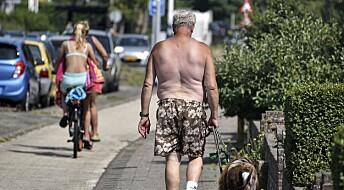 Hetebølgen kan ha tatt 400 liv i Nederland