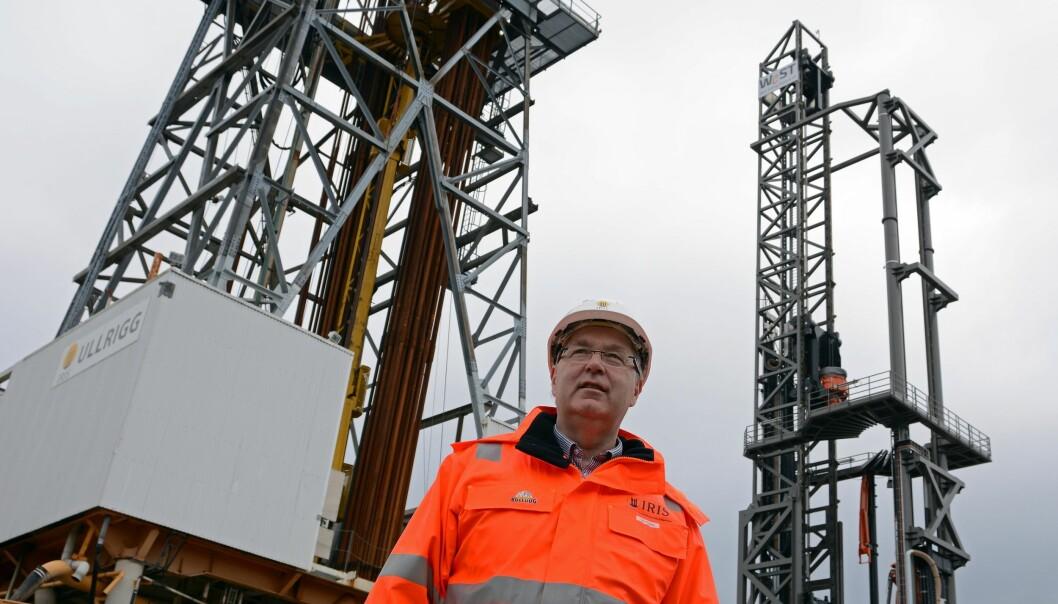 Forskningsdirektør Ole Ringdal ved IRIS har fått penger fra regjeringens krisepakke for at oljeforskere kan omstille seg til helseforskning. Det er nedgangstider i oljebransjen, og flere har mistet jobben ved forskningsinstituttet. (Foto: Ida Kvittingen, forskning.no)