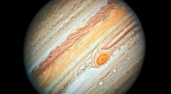Se Hubbles nye portrett av Jupiter