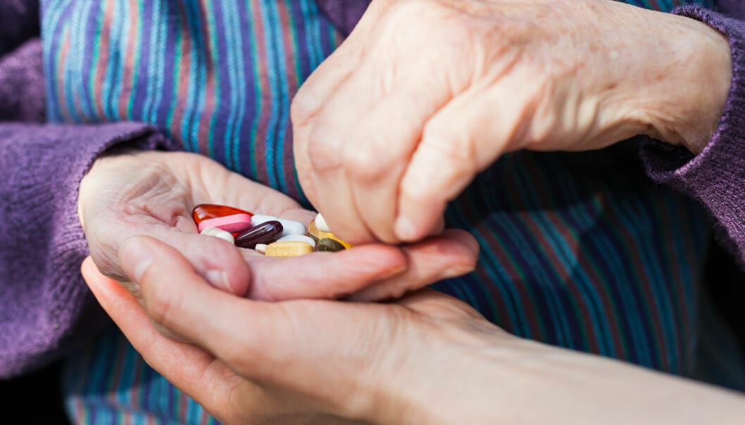 – Eldre med demens er en spesielt sårbar gruppe som ikke bør få psykofarmaka, unntatt når det er strengt nødvendig, og kun i korte perioder, sier overlege. (Illustrasjon: Ocskay Mark / Shutterstock / NTB scanpix)