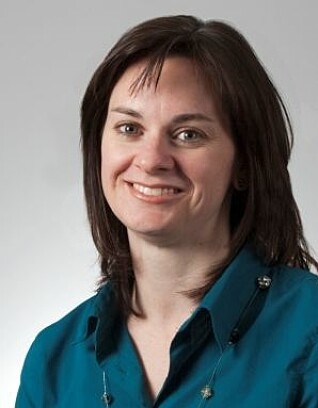 Melanie Drolett of Laval University is one of the researchers behind the analysis of vaccination results. (Photo by Laval University)