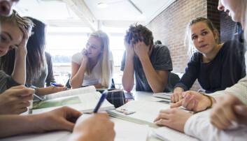 Færre ungdommer trives på skolen