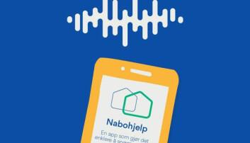 Appen Nabohjelp er laget av Obos og til nå lastet ned over 100 000 ganger. (Bilde: Obos)