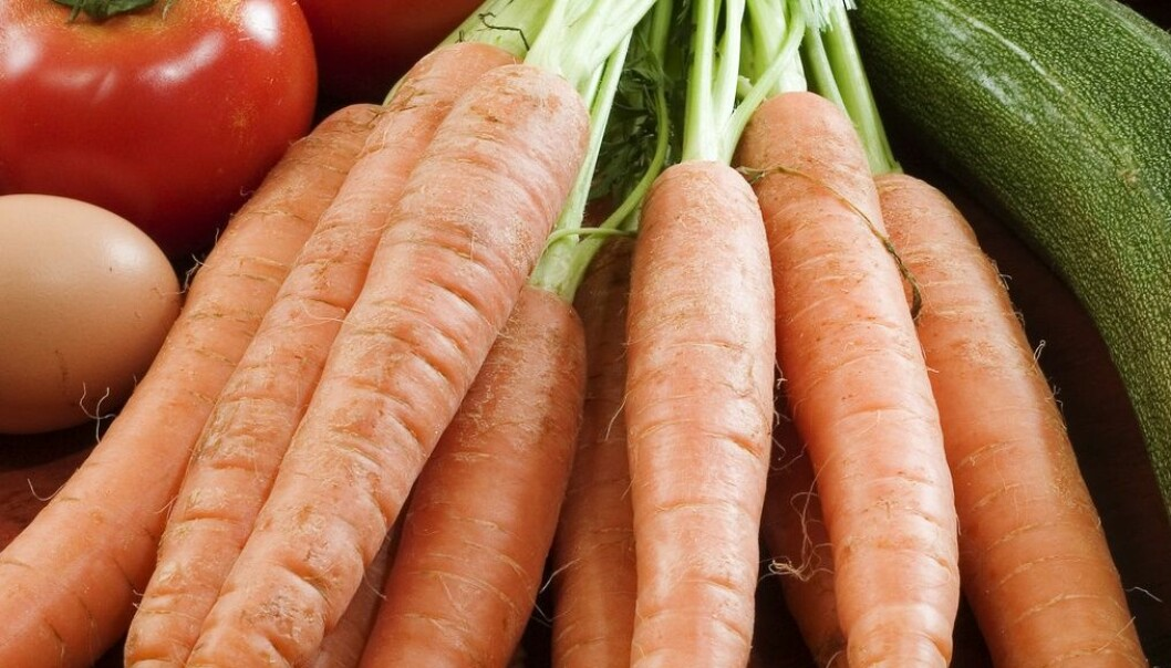 Både tomater, gulrøtter og paprika er grønnsaker med lite FODMAP-er, og er bra for de med irritabel tarm, ifølge ny studie. (Foto: Fernando fern, AGE, NTB scanpix)