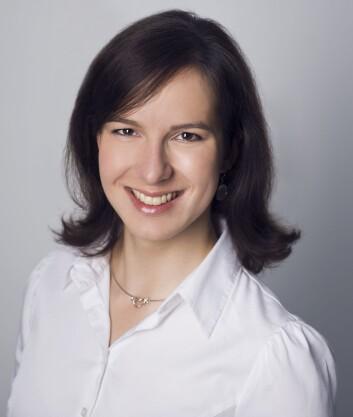 Jana Jágerská, forsker ved UiT Norges Arktiske Universitet. (Foto: UiT)