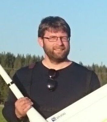 Seniorforsker Stian Andre Solbø ved Norut Tromsø. (Foto: Norut)