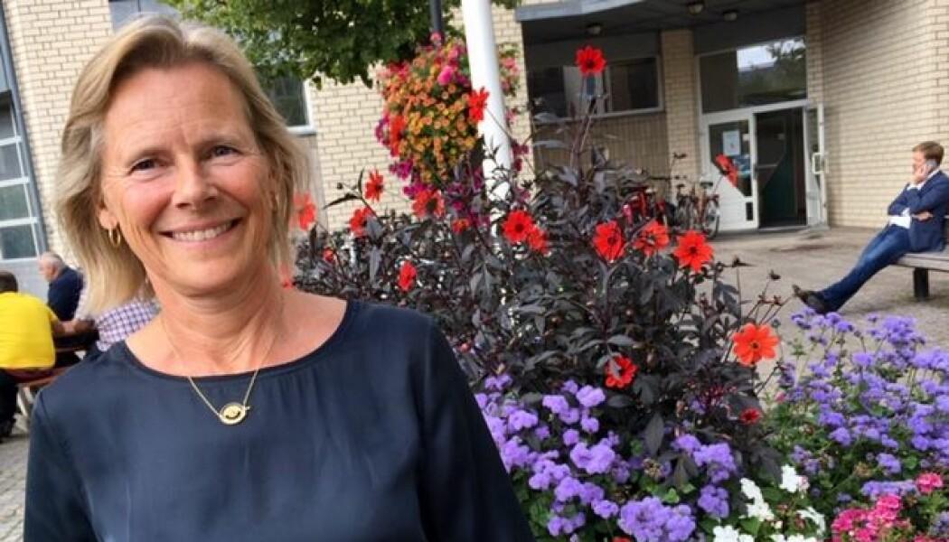 Tone Øderud ved SINTEF har forsket på hvordan pårørende opplever GPS-sporing som hjelpemiddel for å holde oversikt over sine demente kjære. (Foto: Anne Lise Stranden/forskning.no)