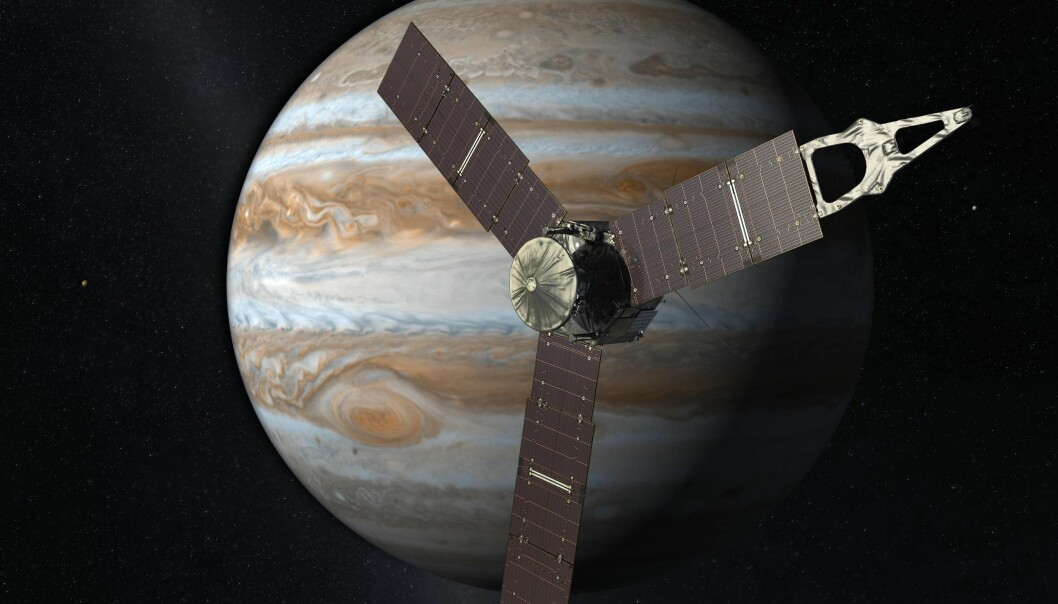 Romsonde nærmer seg Jupiter