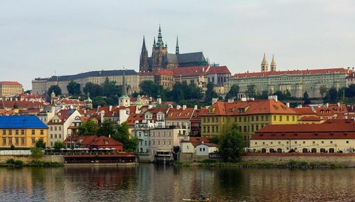 Deler av Borgen i Praha. (Bilde: Andrew Shiva/CC BY-SA 4.0)
