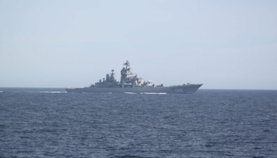 Russland driver i disse dager med en stor øvelse langs norskekysten. (Foto: Forsvaret, NTB scanpix)