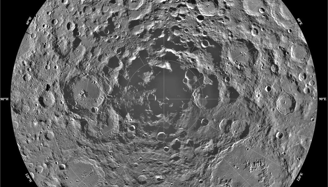 Borer etter vann på månen
