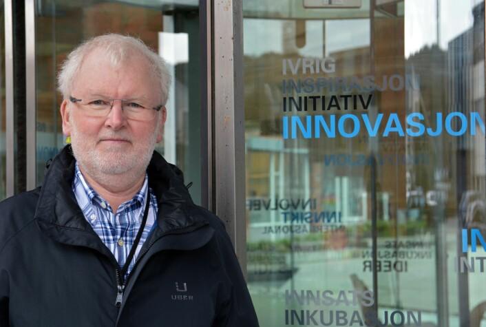 Innovasjonsforsker Martin Gjelsvik får mye å gjøre når en hel region skal omstille seg på grunn av oljekrisen. (Foto: Ida Kvittingen, forskning.no)