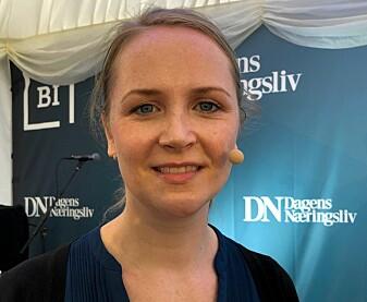 Kjerstin Aukrust er ansatt ved UiO og reagerte på all flyreisingen hun var med og bevilget penger til. (Foto: Bård Amundsen/forskning.no)