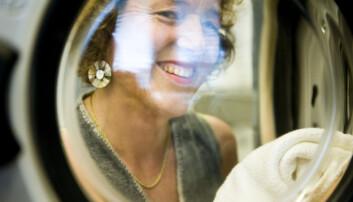 Ingun Grimstad Klepp forsker på klær og klesforbruk på OsloMet. Hun har klare synspunkter på hva som er problemet med dagens klesindustri. (Foto: Andreas Birger Johansen/Forskningsrådet)
