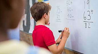 – Norsk skole underbygger sosiale forskjeller