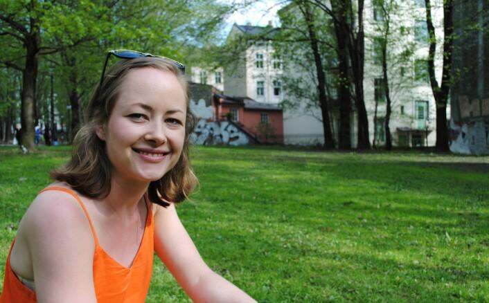 Ingrid Hjorth-Johansen har kartlagt piggsvin i Oslo. (Foto: Nibio)