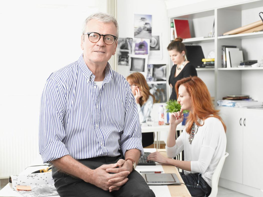 Livslang læring skal sørge for at flere seniorer står i jobb lenge. Men det er mye som må på plass for at det skal bli en realitet, mener et utvalg som nylig leverte en rapport med en rekke konkrete forslag. (Foto: Kinga / Shutterstock / NTB scanpix)