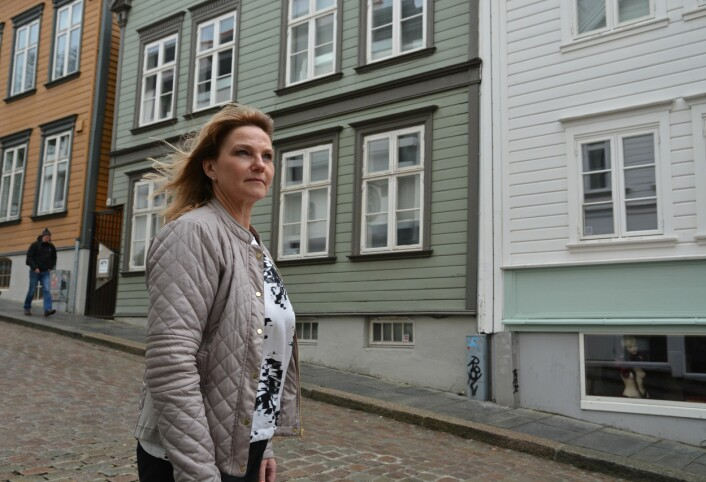 Kanskje kan det komme noe godt ut av krisen, tror Janicke Løland. Stavanger var i ferd med å bli en by for dem med mye penger. (Foto: Ida Kvittingen, forskning.no)