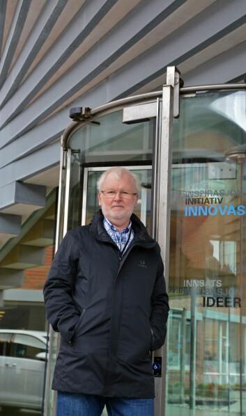 Økonom Martin Gjelsvik mener bedriftene bør ha strategier som tar høyde for både vekst og fall. (Foto: Ida Kvittingen, forskning.no)
