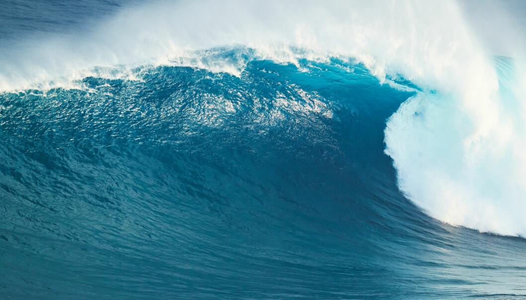 Det kan ha vært digre bølger på Mars for flere milliarder år siden. (Illustrasjonsbilde: Shutterstock/NTB Scanpix)
