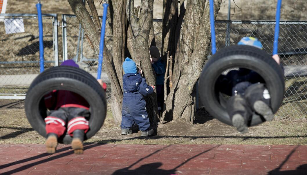 I Norge har det vært mer enn en dobling av barn i aldersgruppen 0-3 år i barnehagene siden år 2000. Samtidig har det skjedd organisatoriske endringer av barnehagene. Dette får selvsagt konsekvenser for barna.  (Foto: Gorm Kallestad, NTB scanpix)