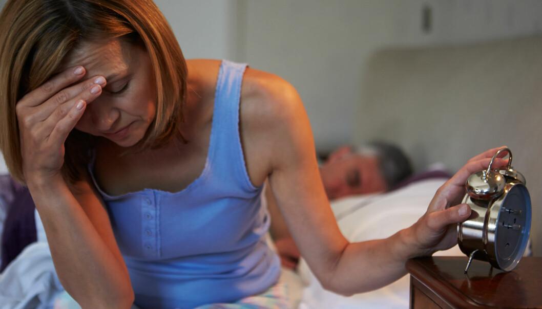Søvnløs? Heldigvis trenger det ikke påvirke risikoen for hjertesvikt. (Foto: Monkey Business Images, Shutterstock, NTB scanpix)