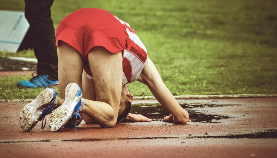 Hvordan greier idrettsutøvere å hente de siste kreftene til en sluttspurt når de allerede har kjørt seg så hardt tidligere i løpet? Ligger det i kroppen - eller i hodet? (Illustrasjonsfoto: vlad.georgescu/Shutterstock/NTB scanpix.)