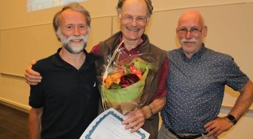 Rolf Bjerke Larssen tildelt hederspris innen veterinærepidemiologi