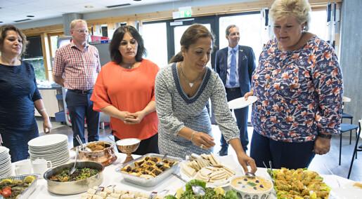 Norge best i Norden på å få flyktningkvinner i arbeid