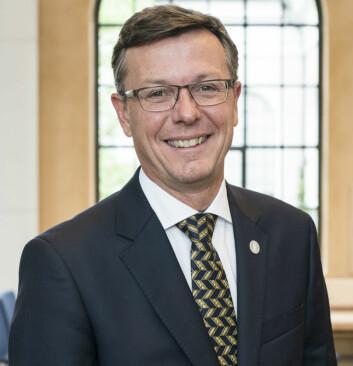 Dag Rune Olsen er rektor ved Universitetet i Bergen. (Foto: Thor Brødreskift/UiB)