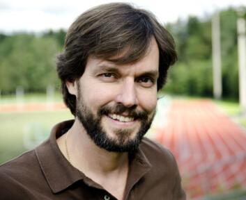 Nicolas Lemyre er seksjonsleder ved Norges Idrettshøgskole. (Foto: Andreas B. Johansen.)