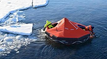 Forskarar i isen skal gje tryggare cruisetrafikk i Arktis