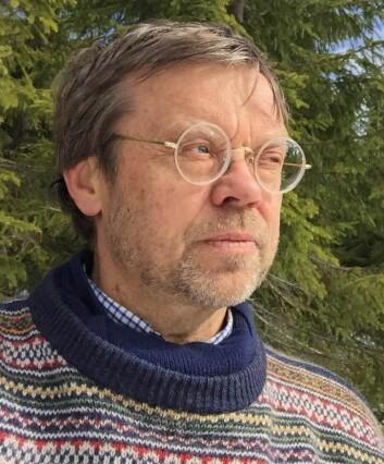 – Utbrudd av granbarkbillen brer seg som flekker av drepte trær etter hvert som nye generasjoner av biller sprer seg og koloniserer nye trær, forklarer seniorforsker Bjørn Økland ved Nibio. (Foto: Nibio)