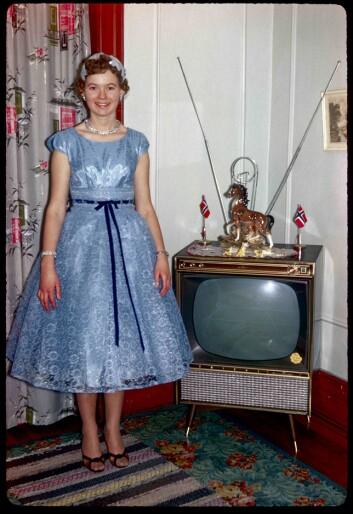 Noen flyttet hjem igjen om de giftet seg med en norsk mann, og tok med seg mest mulig av amerikansk komfort og individualisme. (Foto: privat)