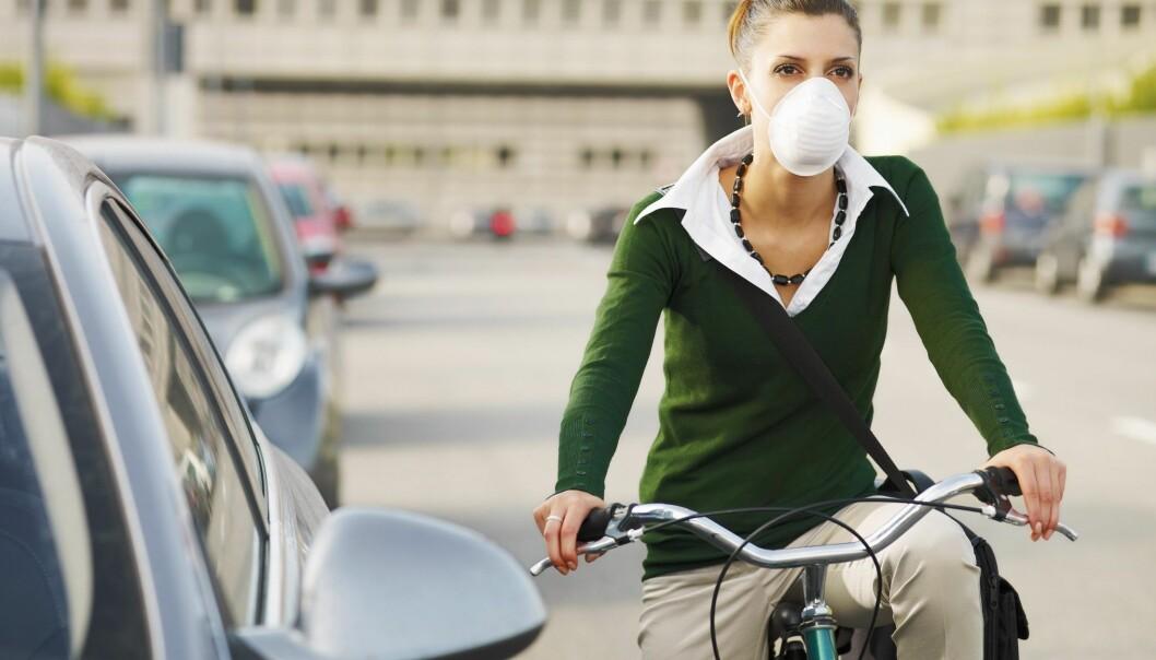 Helsegevinst fra sykling mer enn veier opp for dårlig storbyluft