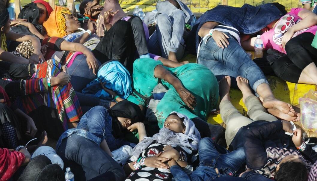Hva påvirker migrantene når de velger hvilke land de skal reise til og måten de kommer seg dit på. Dette skal professor May-Len Skilbrei ved Universitetet i Oslo se nærmere på. (Foto: Stig B. Hansen, NTB scanpix)